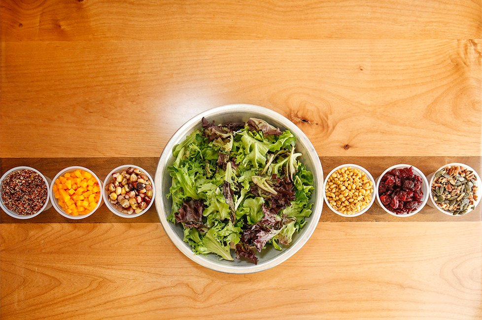 Tocabe build your own bowl ingredients